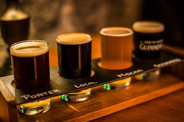 Stout irish sports pub