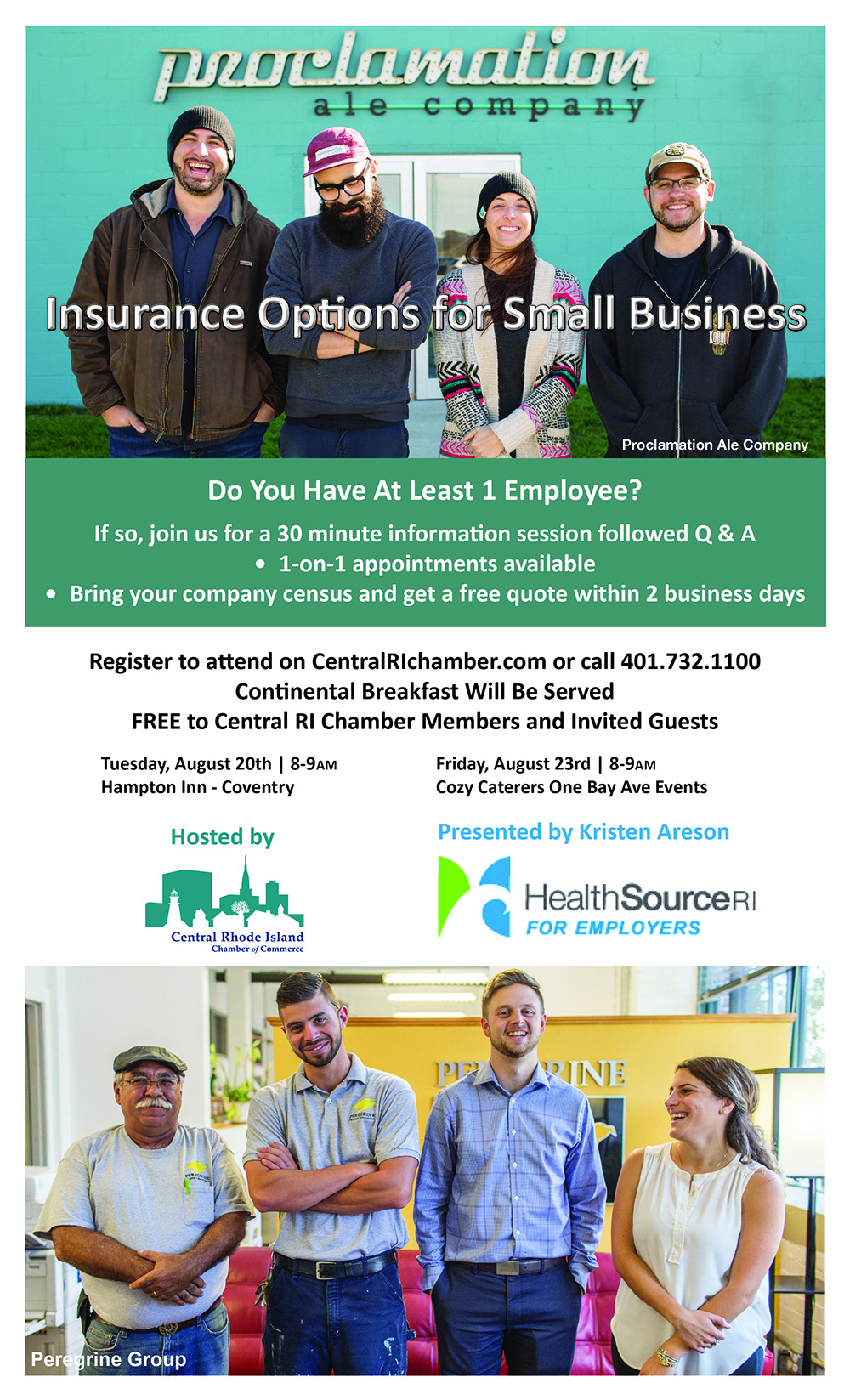 Health Insurance Options for Small Business - August 20 ...